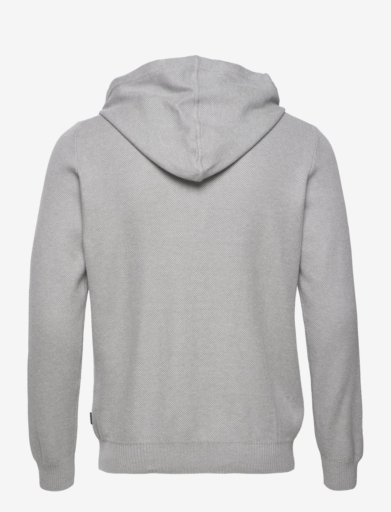 SAND - 5488 - Hoodie Ingram - basic sweatshirts - grey - 1