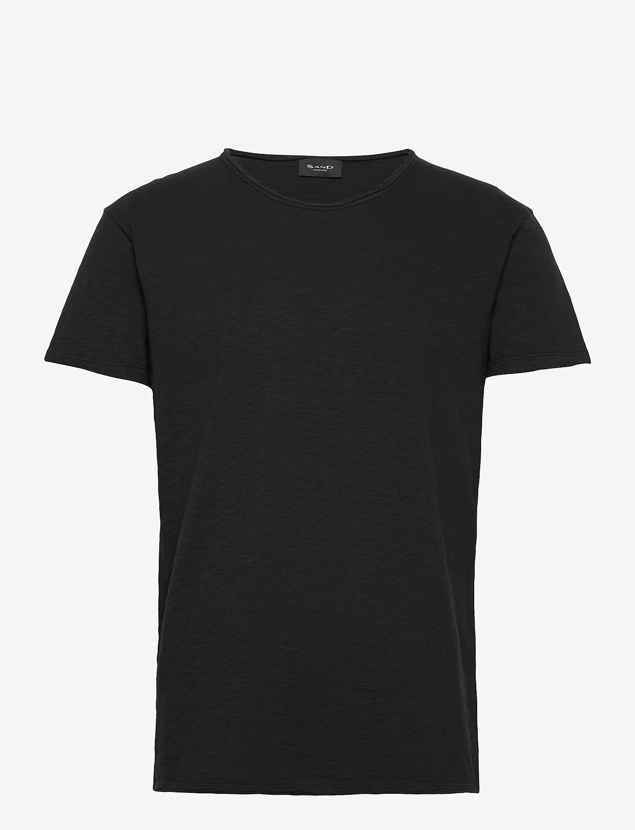 SAND - 4829 - Brad O - basic t-shirts - black - 0