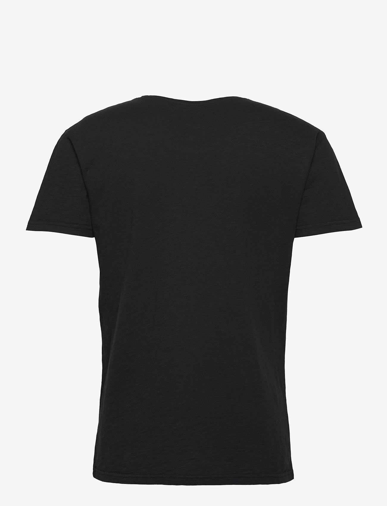 SAND - 4829 - Brady - basic t-shirts - black - 1