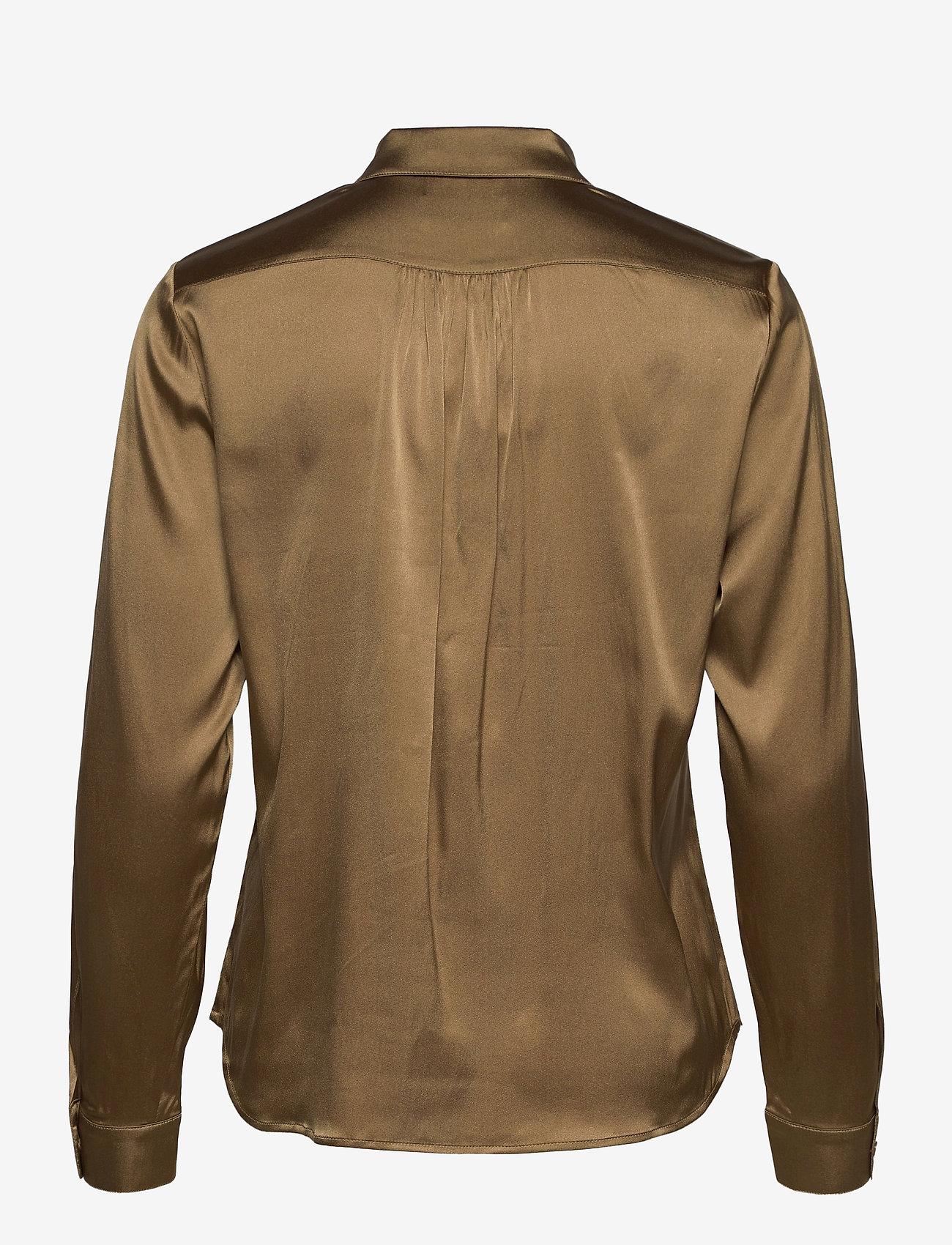 SAND - 3176 - Latia - overhemden met lange mouwen - light camel - 1