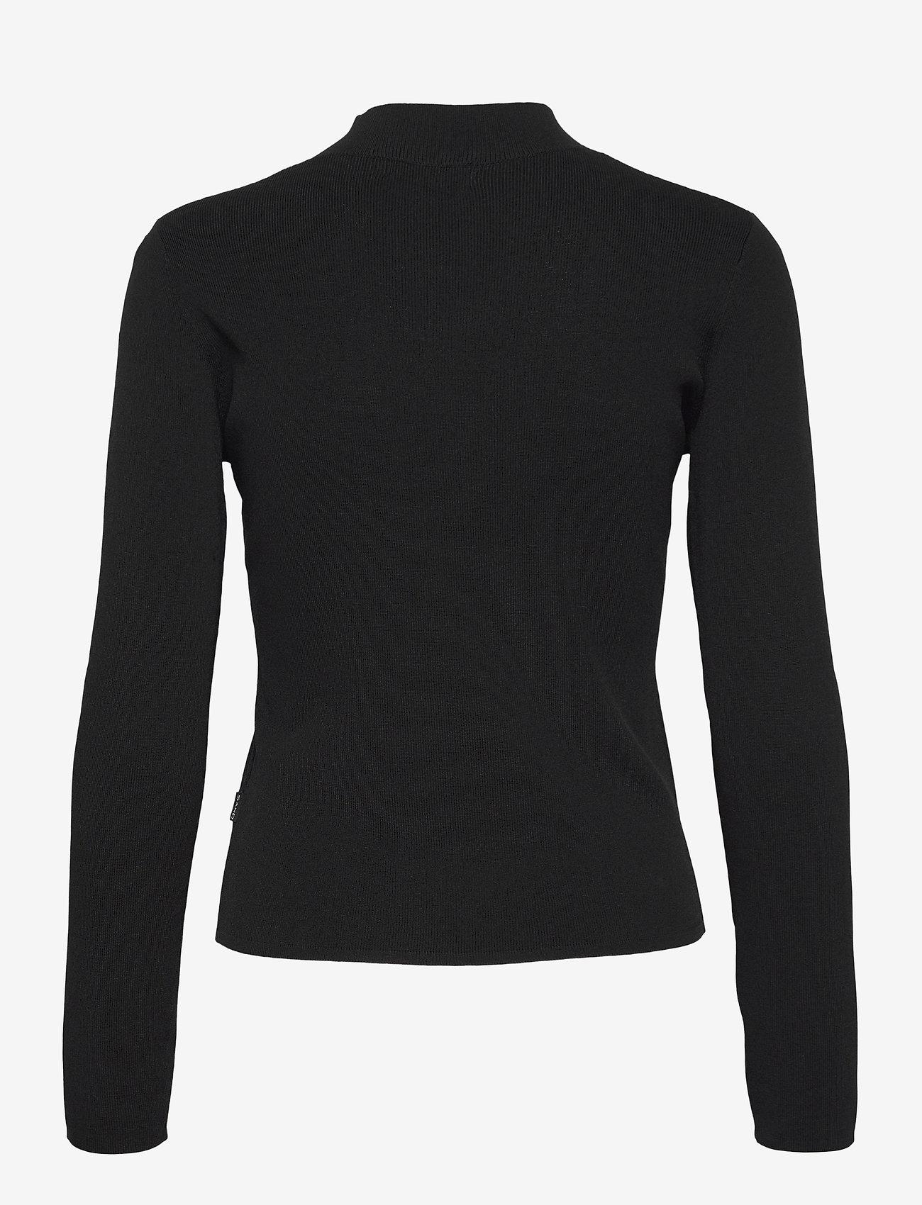 SAND - 5181 - Della Zip - cardigans - black - 1