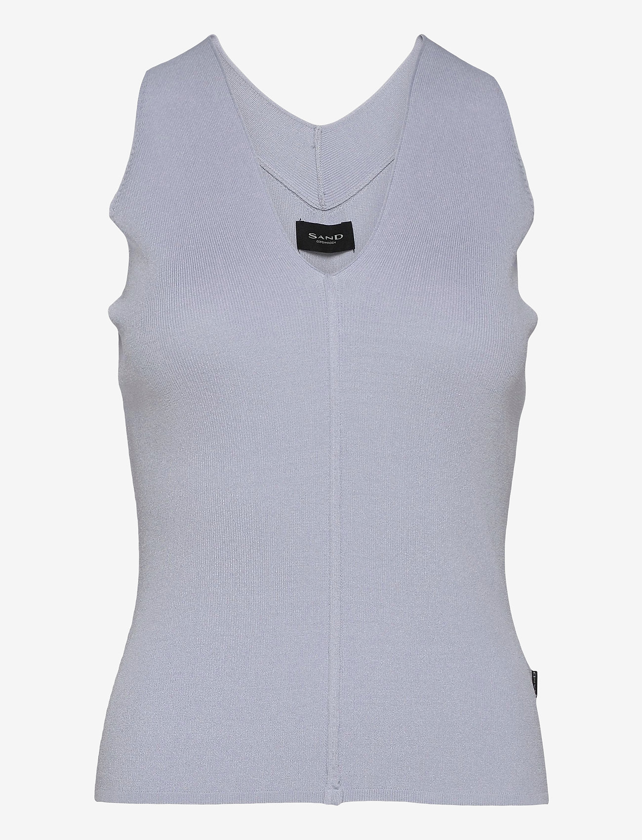 SAND - 5181 - Barney - knitted vests - ice blue - 0