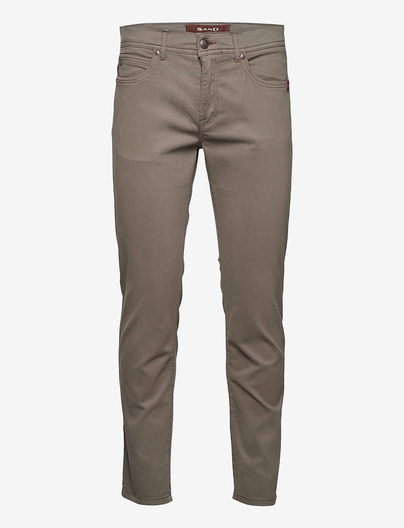 """SAND - Suede Touch - Burton NS 30"""" - slim jeans - dark army - 0"""