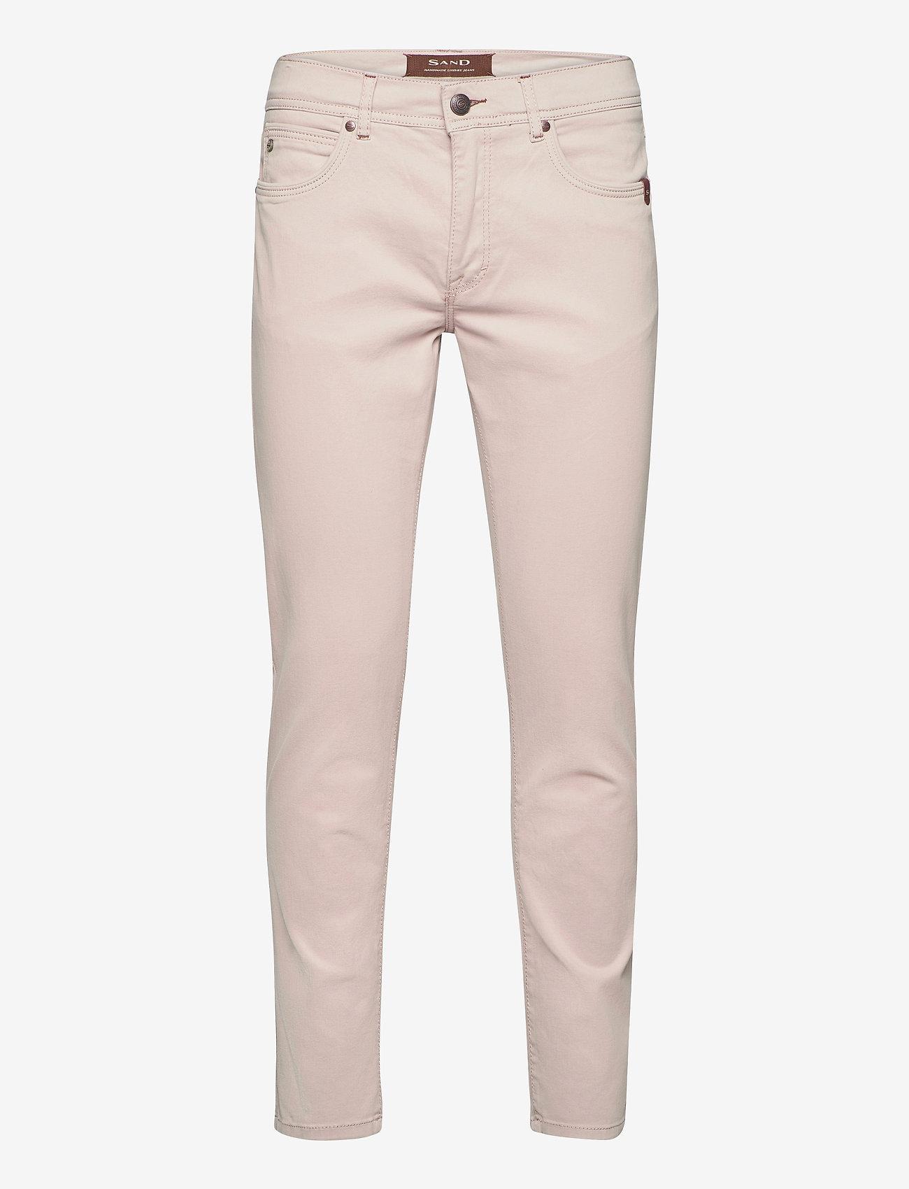 "SAND - Suede Touch - Burton NS 30"" - slim jeans - light camel - 0"