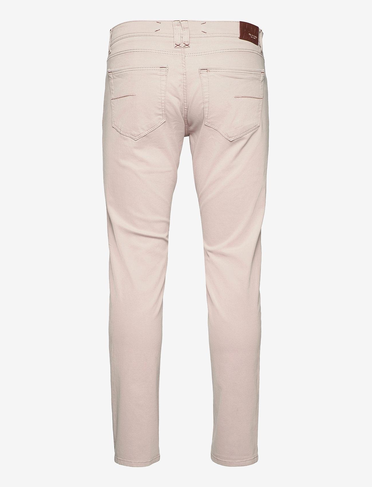 "SAND - Suede Touch - Burton NS 30"" - slim jeans - light camel - 1"