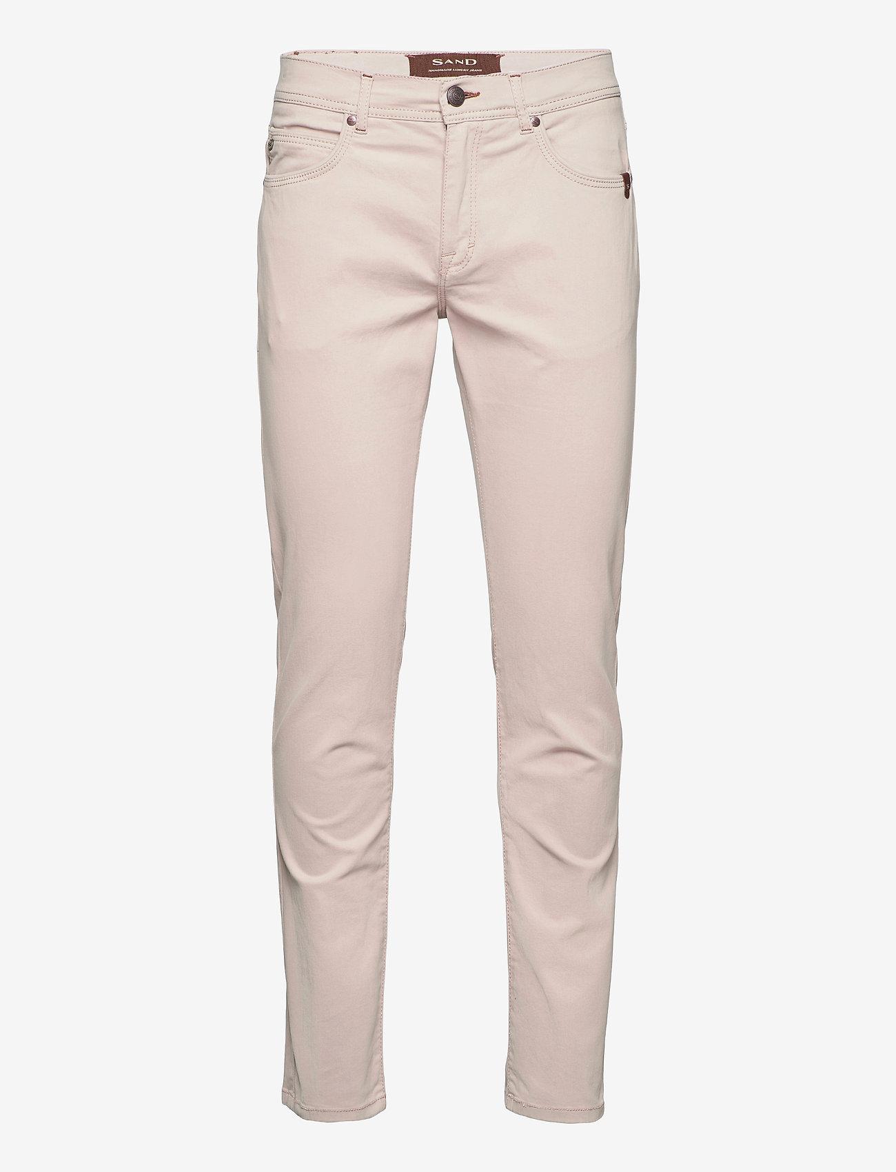 "SAND - Suede Touch - Burton NS 32"" - regular jeans - light camel - 0"