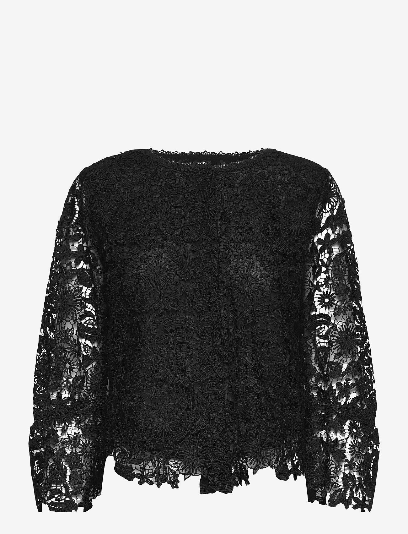 SAND - 3180 - Bala Cuff - blouses met lange mouwen - black - 0