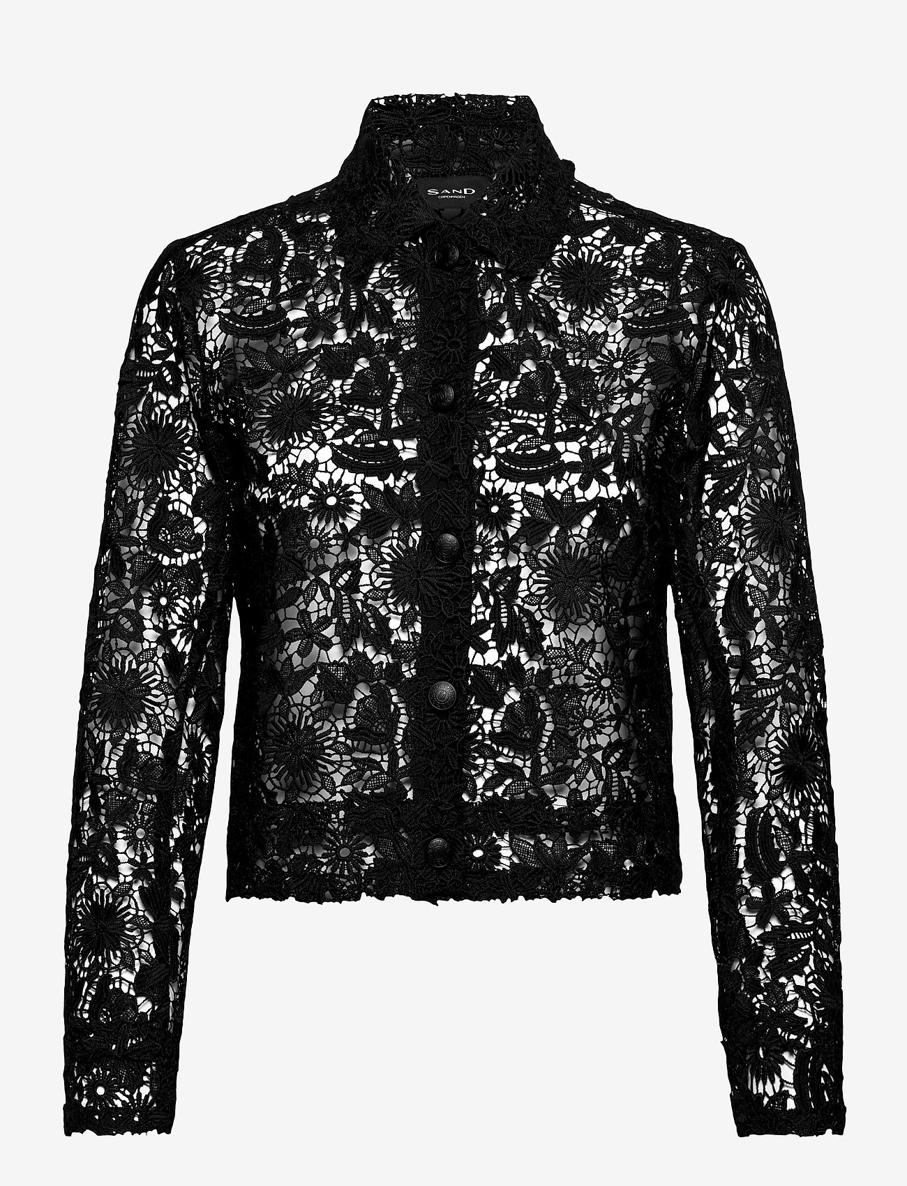 SAND - 3180 - Kaela - overhemden met lange mouwen - black - 0
