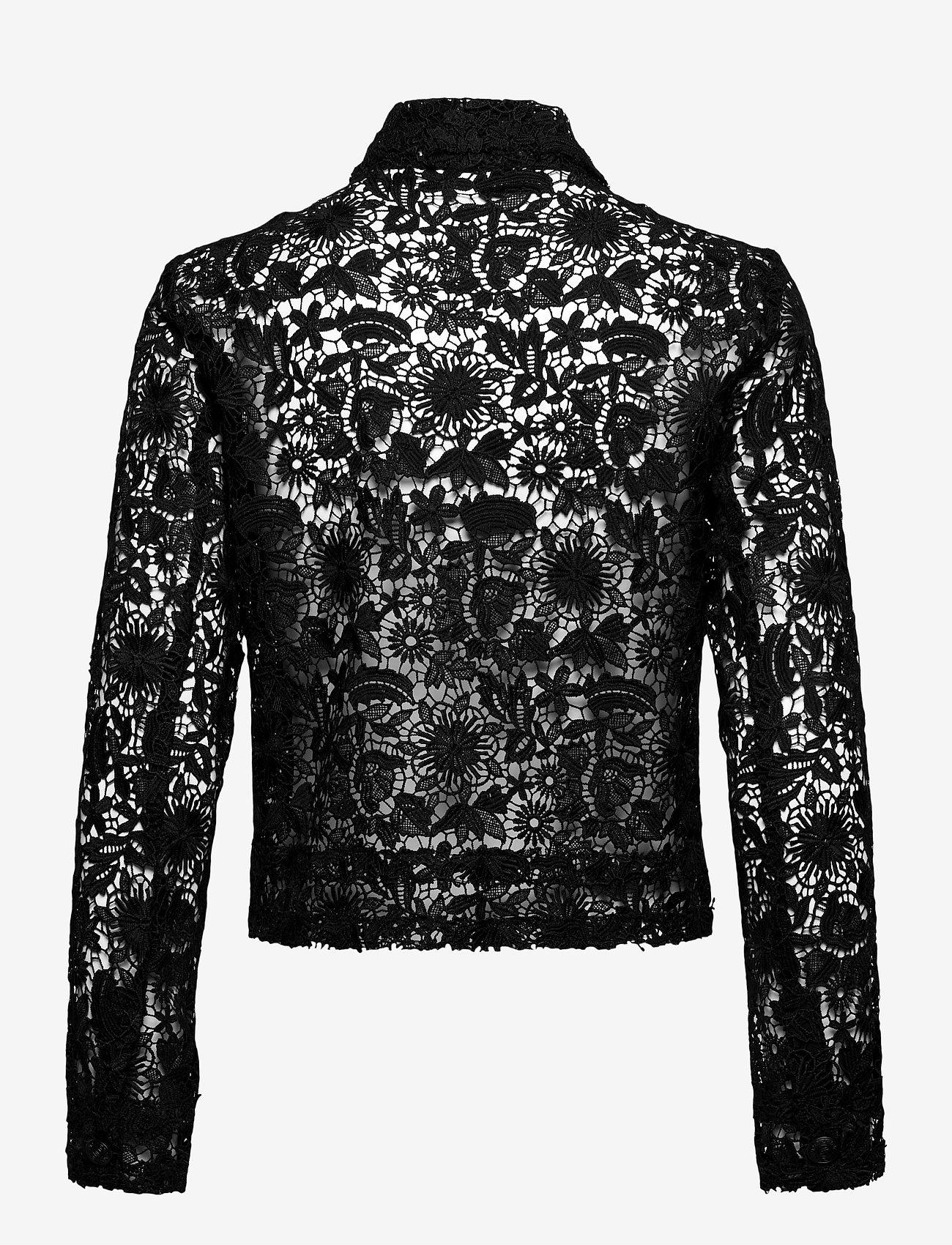 SAND - 3180 - Kaela - overhemden met lange mouwen - black - 1