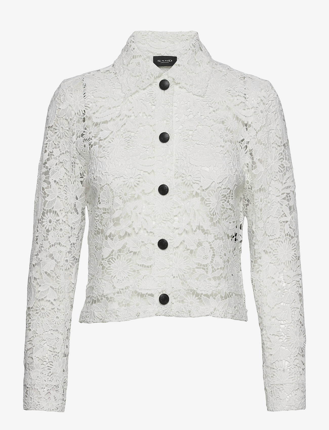 SAND - 3180 - Kaela - overhemden met lange mouwen - off white - 0