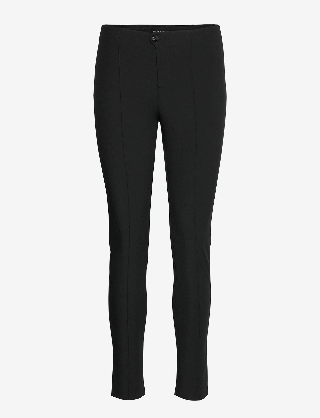 SAND - 0624 - Arella - slim fit broeken - black - 0