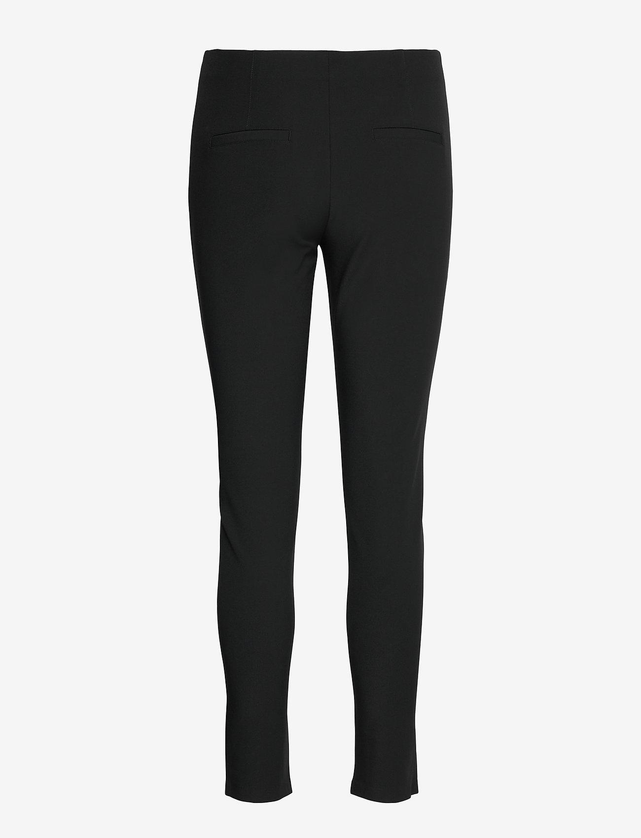 SAND - 0624 - Arella - slim fit broeken - black - 1