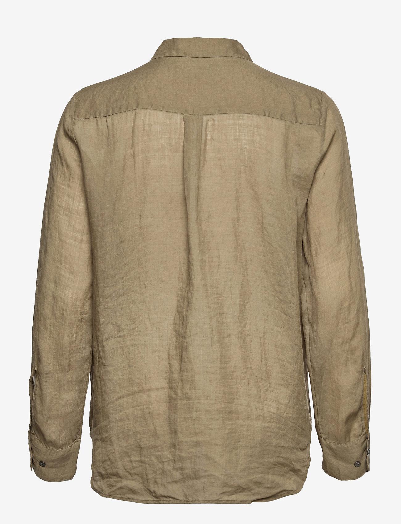 SAND - 8851 - Nami - overhemden met lange mouwen - army green - 1
