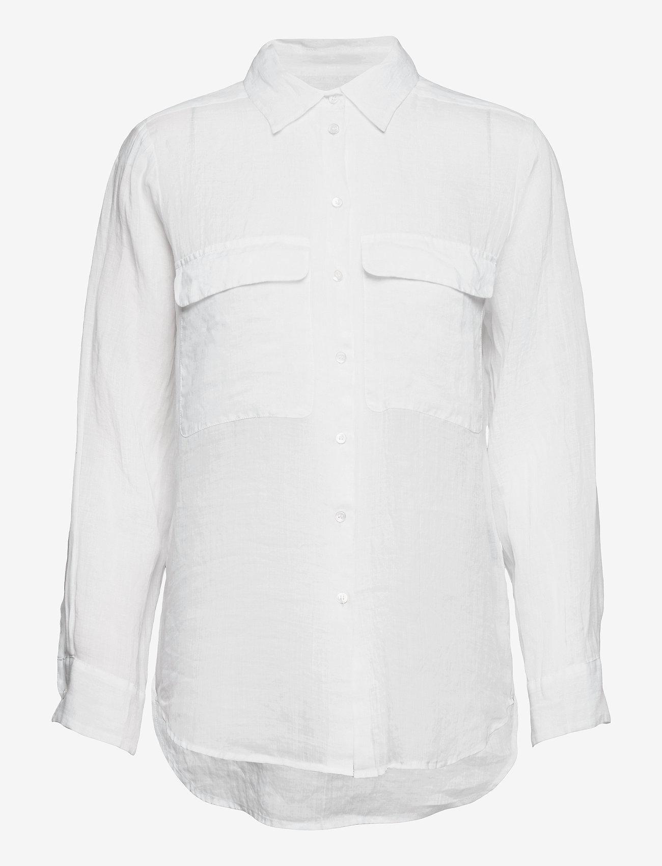 SAND - 8851 - Nami - overhemden met lange mouwen - optical white - 0