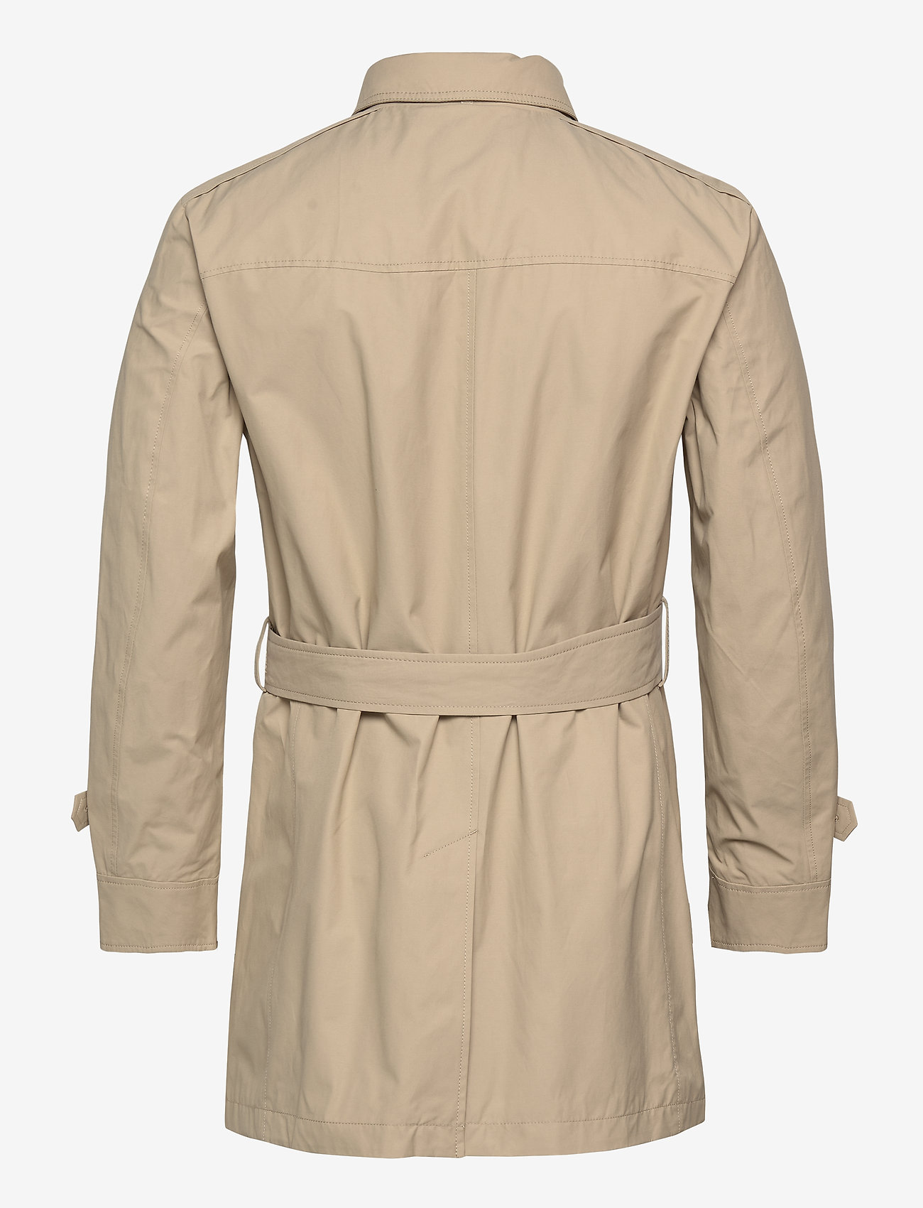SAND - Techno Cotton - Trench B - trenchcoats - light camel - 1