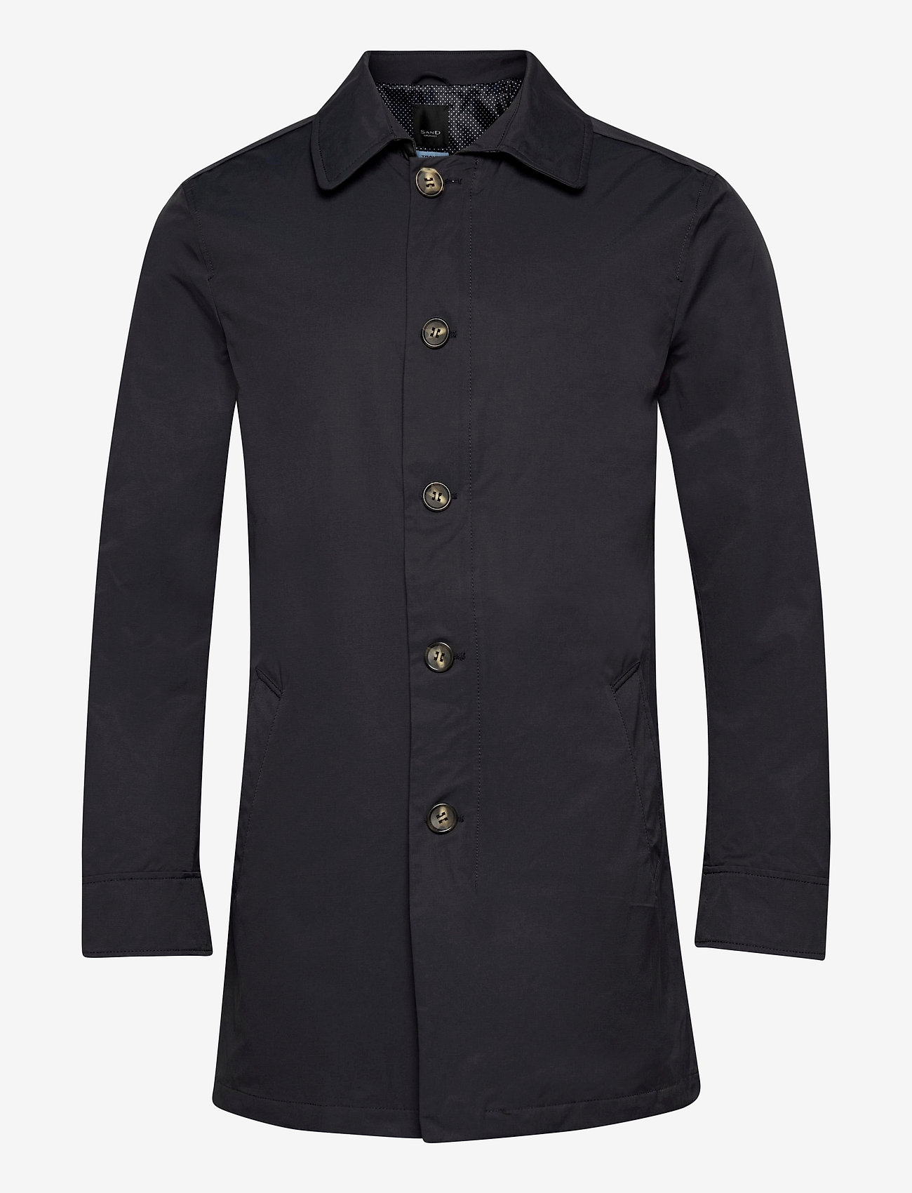 SAND - Techno Cotton - Blair - dunne mantels - dark blue/navy - 0