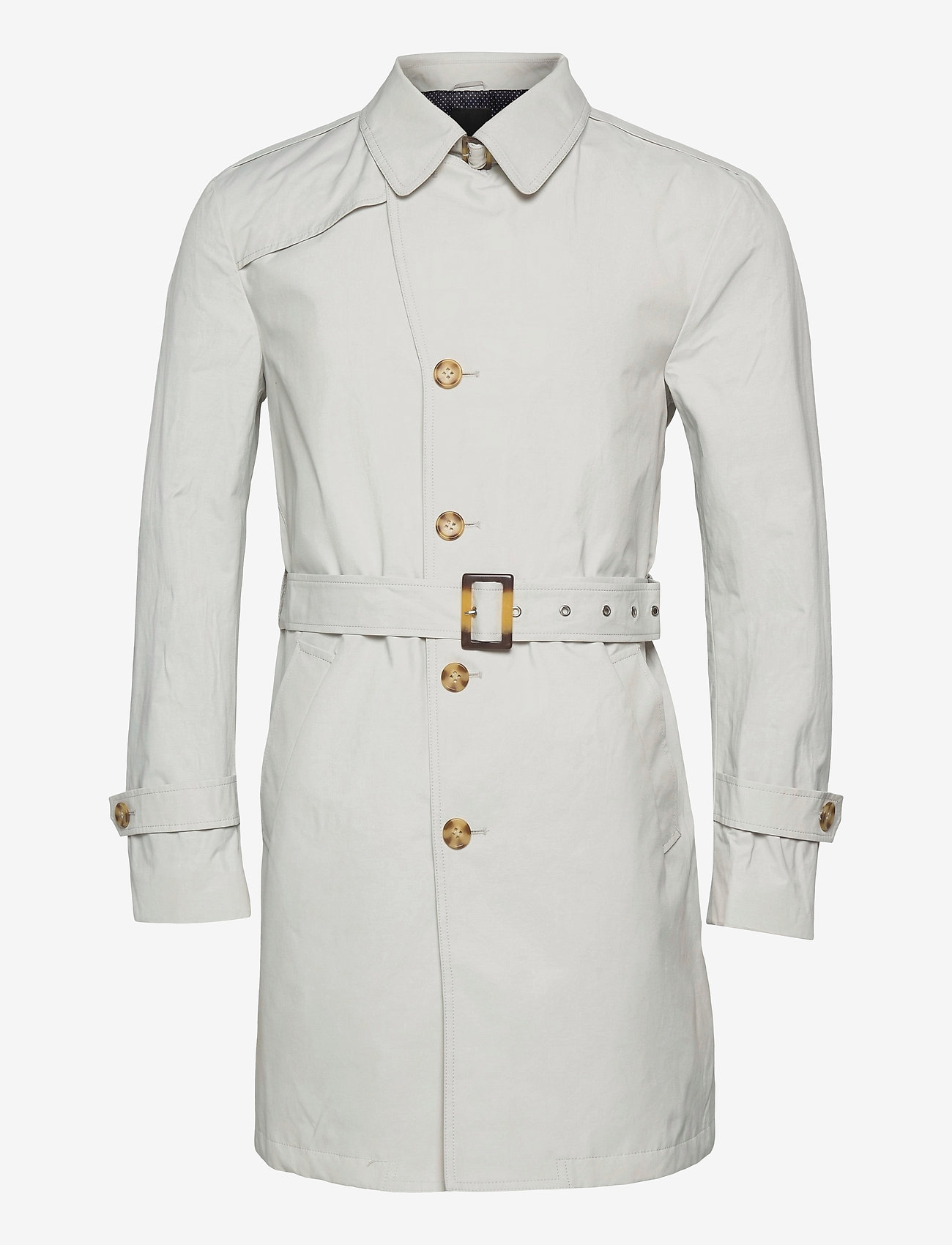 SAND - Techno Cotton - Single Trench - trenchcoats - off white - 0