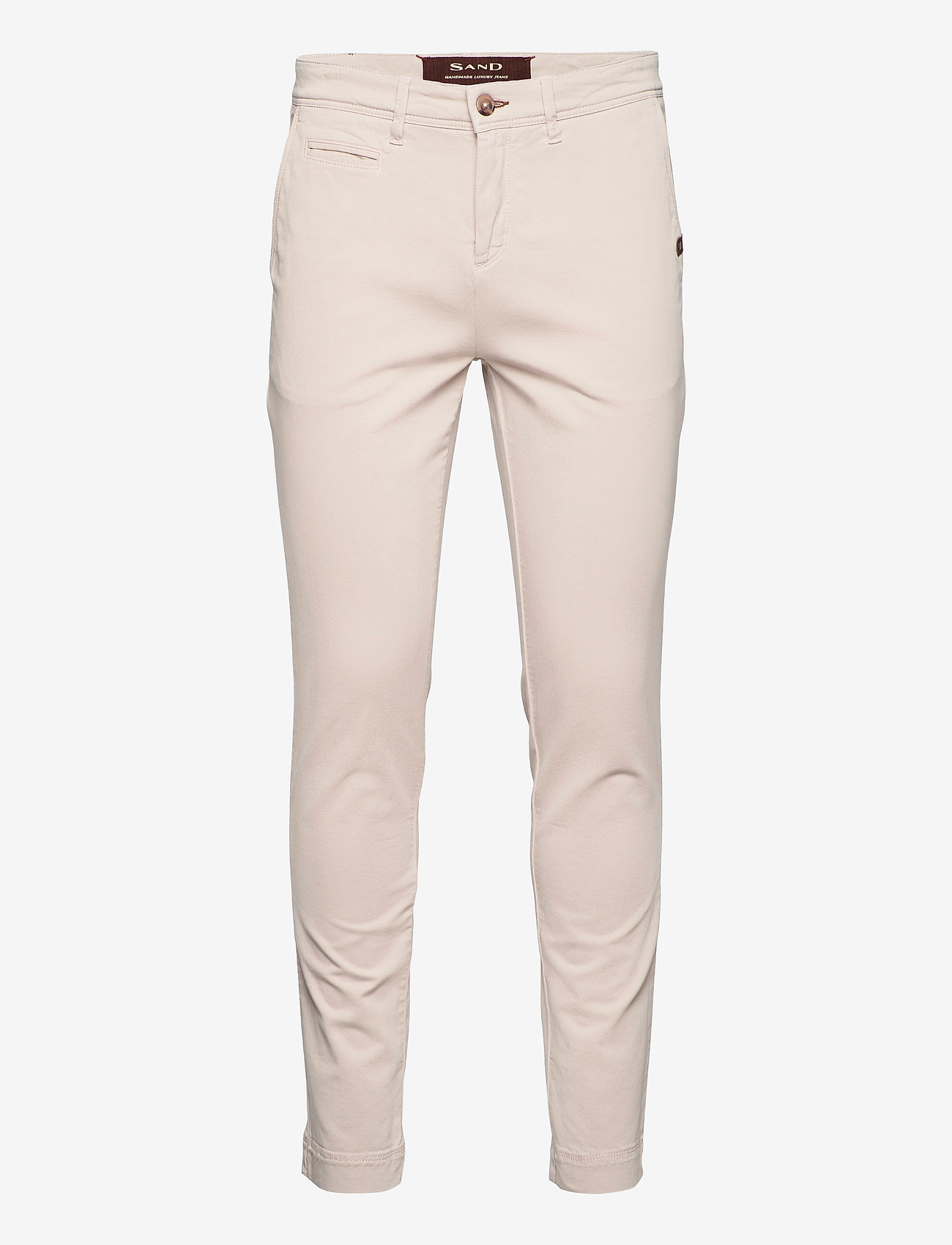 SAND - Cashmere Touch - Dolan Slim - regular jeans - light camel - 0