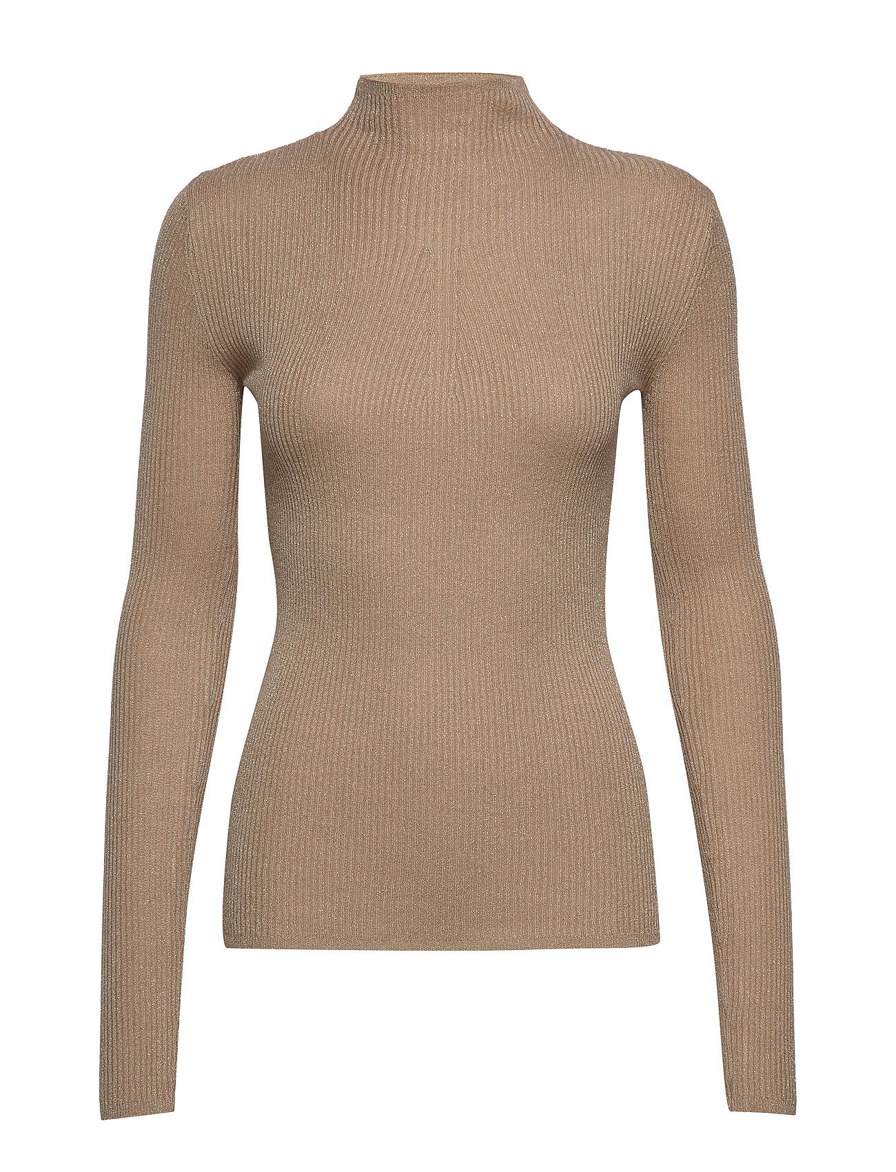 SAND Lurex Viscose - Eleri Top - BEIGE