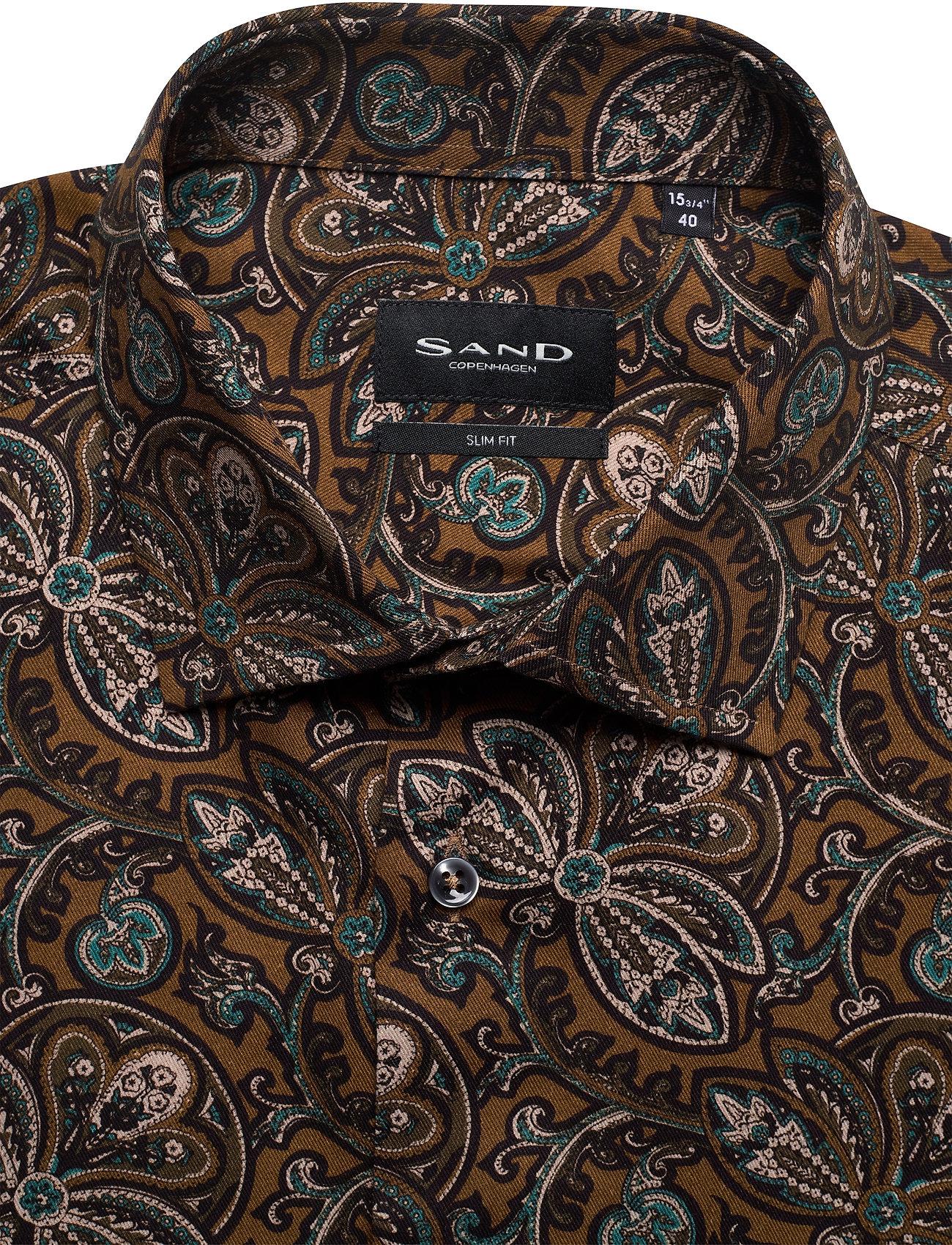 SAND 8663 - Iver 2 - Skjorter OLIVE/KHAKI - Menn Klær