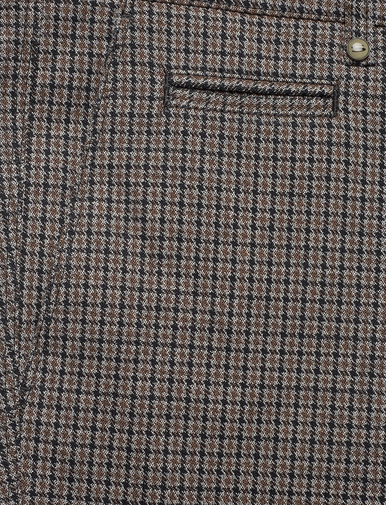 SAND - 2557 - Dolan Slim - formele broeken - pattern - 2