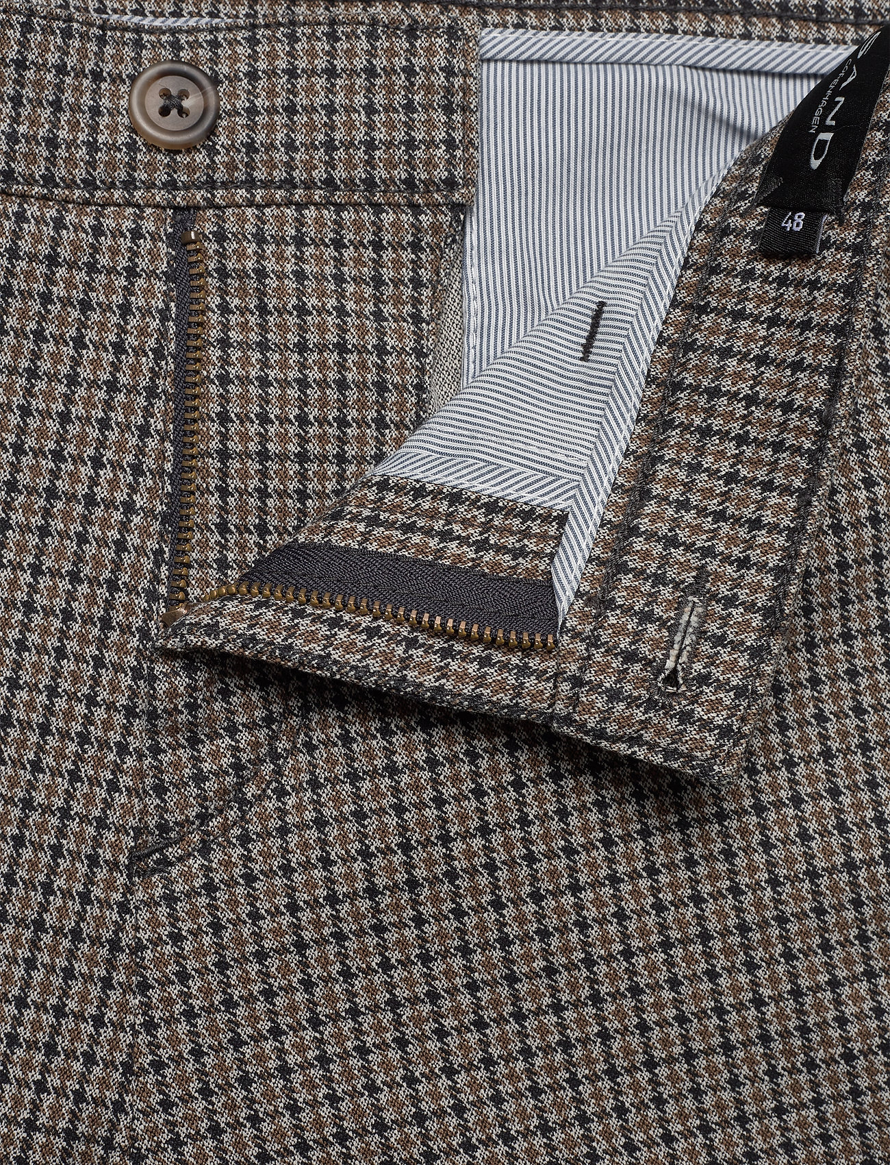 SAND - 2557 - Dolan Slim - formele broeken - pattern - 3