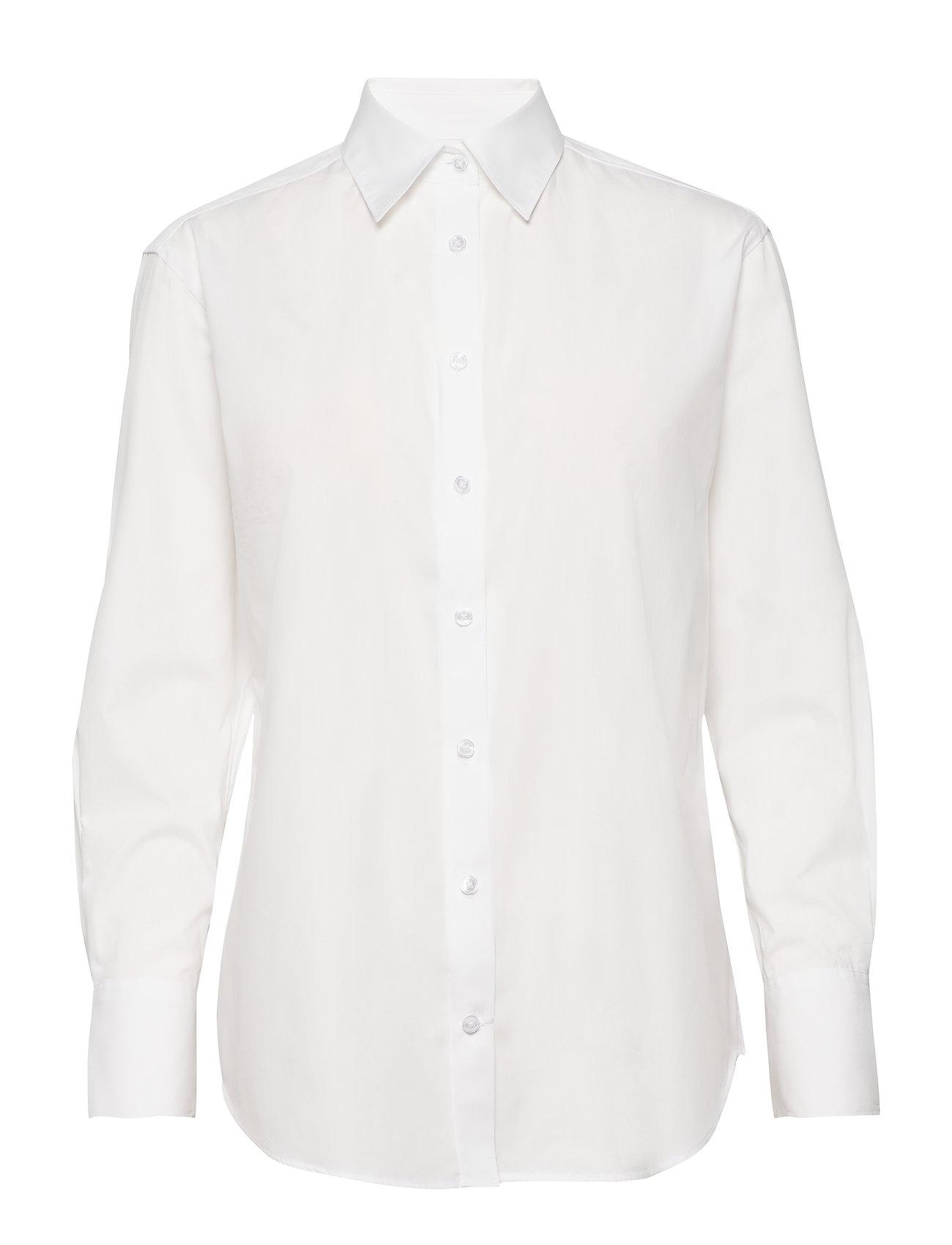 SAND - 8704 - Nube - overhemden met lange mouwen - optical white - 0