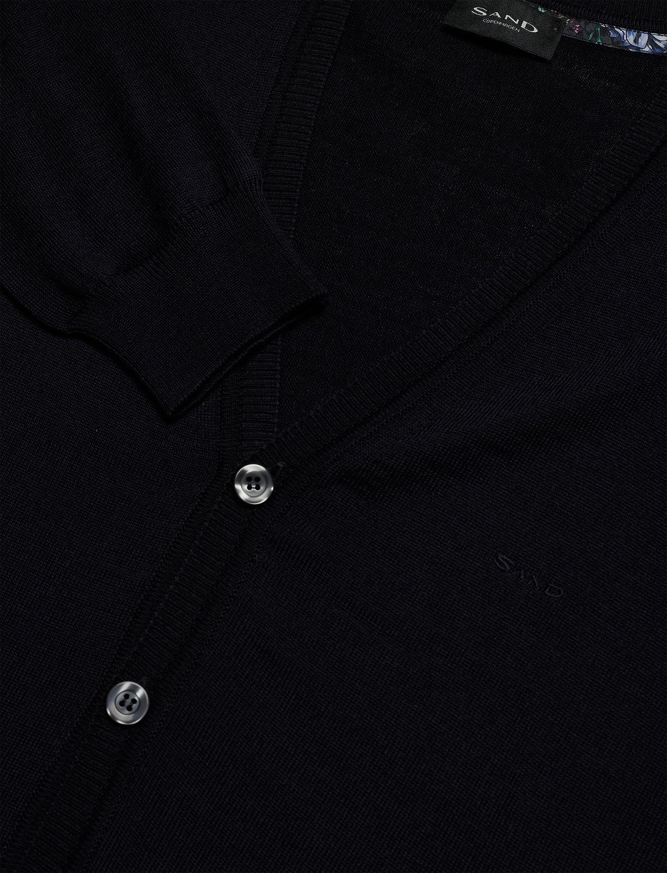 SAND Merino Embroidery - Ice - Strikkevarer DARK BLUE/NAVY - Menn Klær