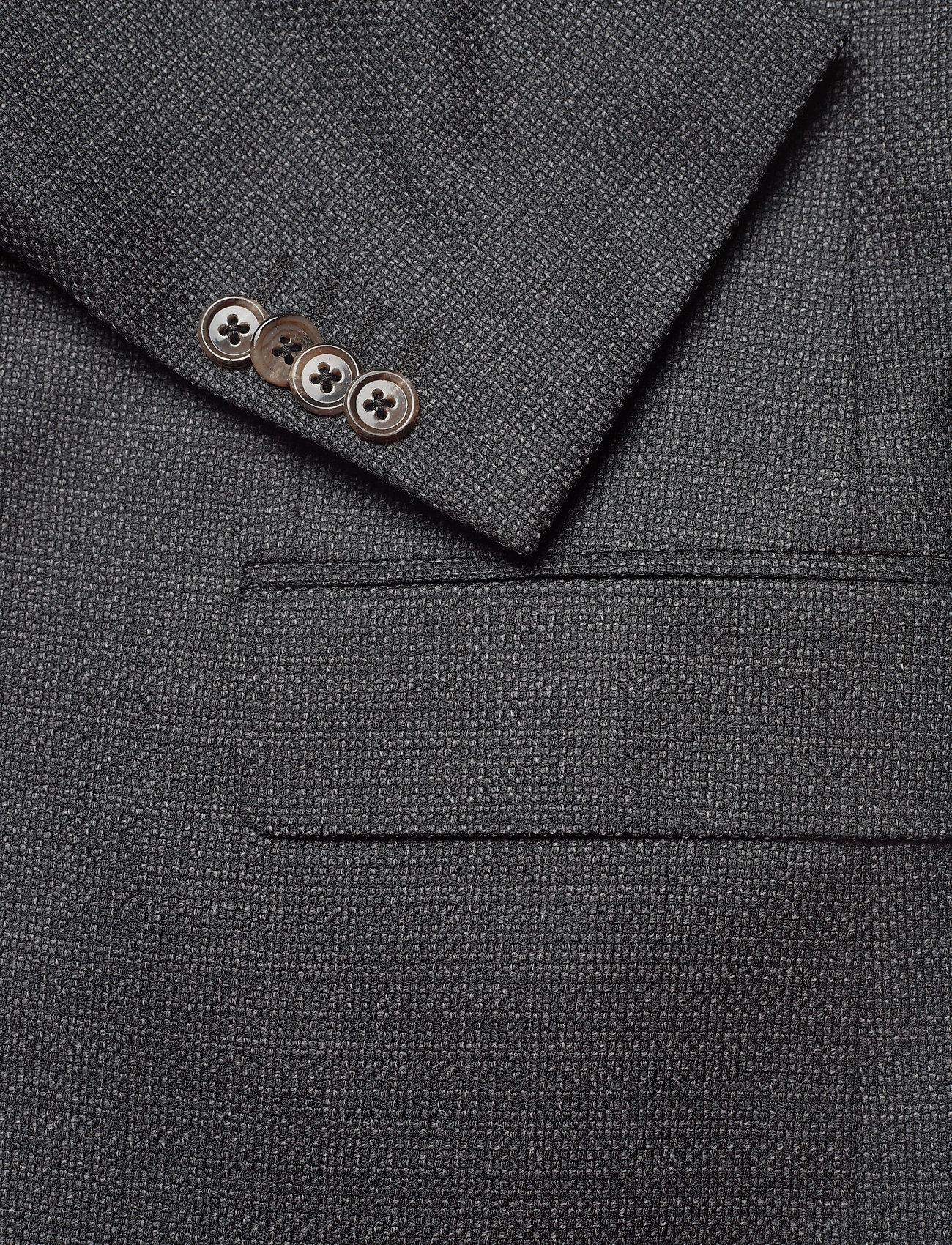 SAND - 6621 - Star Napoli Normal - blazers met enkele rij knopen - charcoal - 3