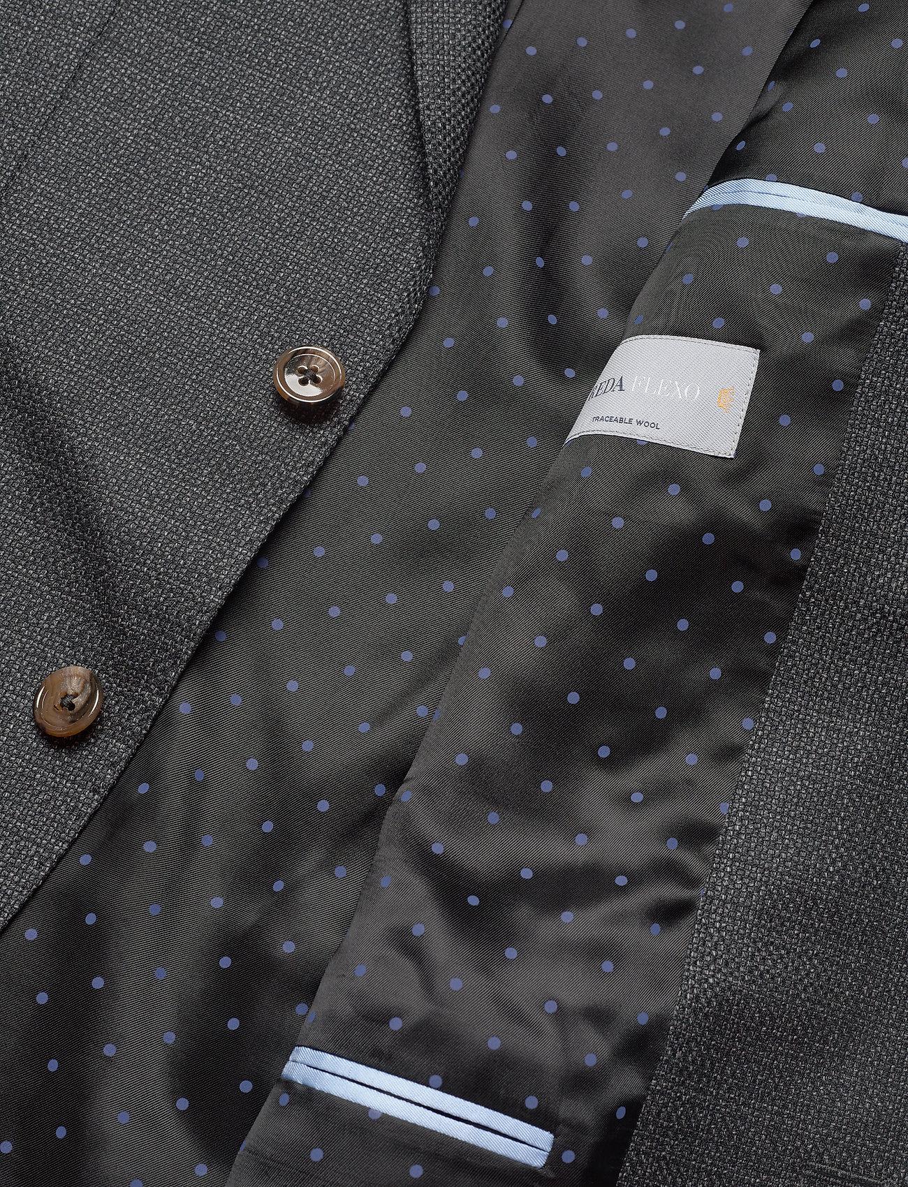 SAND - 6621 - Star Napoli Normal - blazers met enkele rij knopen - charcoal - 4
