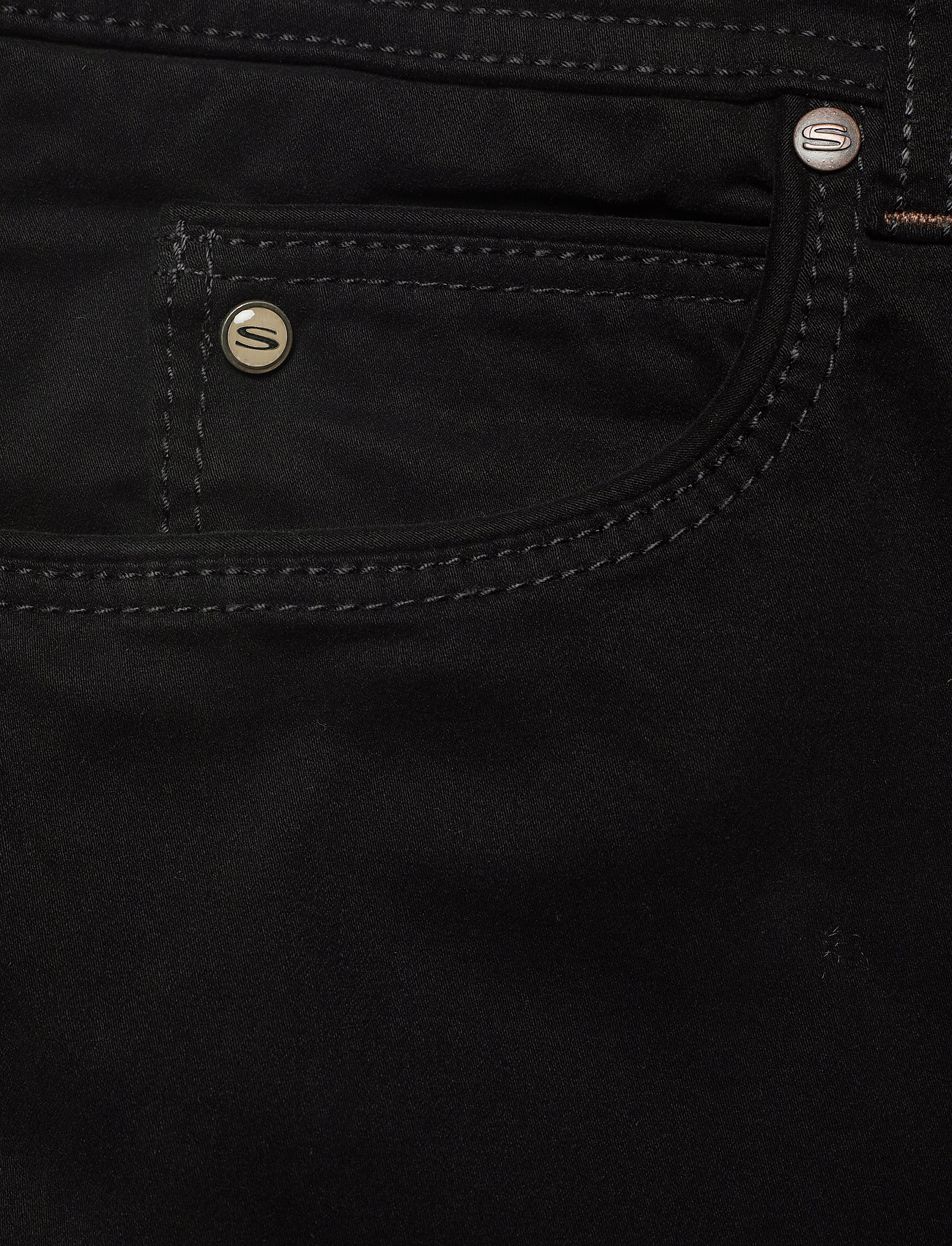 """SAND - Suede Touch - Burton NS 30"""" - casual trousers - black - 2"""