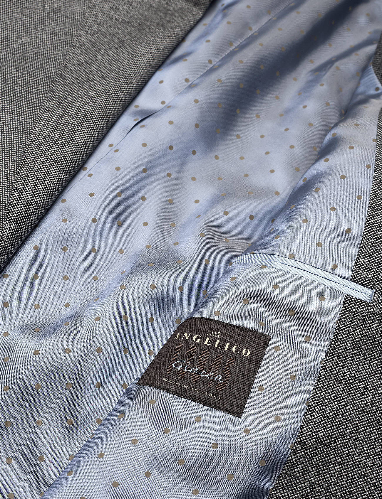 SAND - 6135 Oxford - Star Napoli Normal - blazers met enkele rij knopen - grey - 4