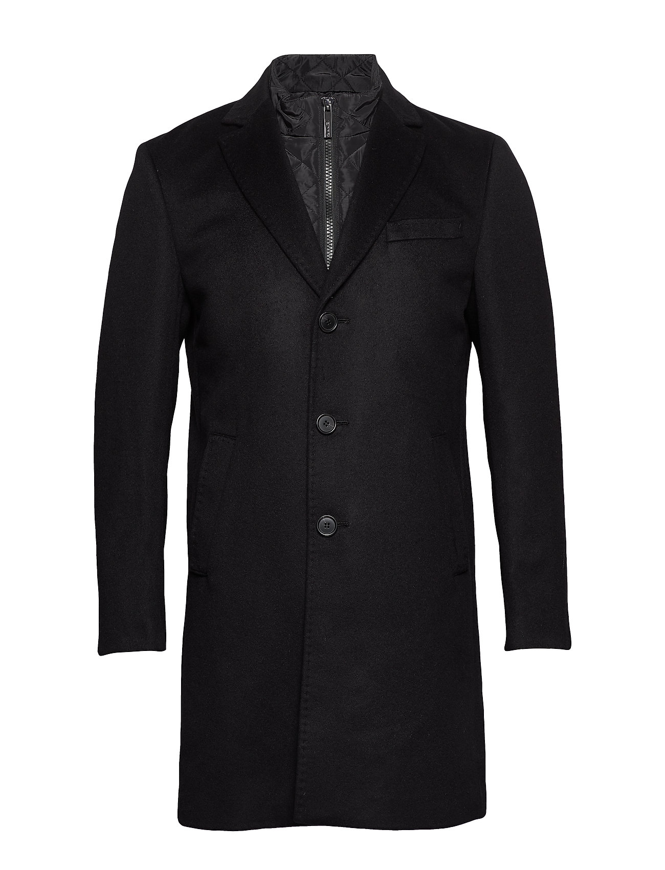 SAND Cashmere Coat - Sultan Tech - BLACK