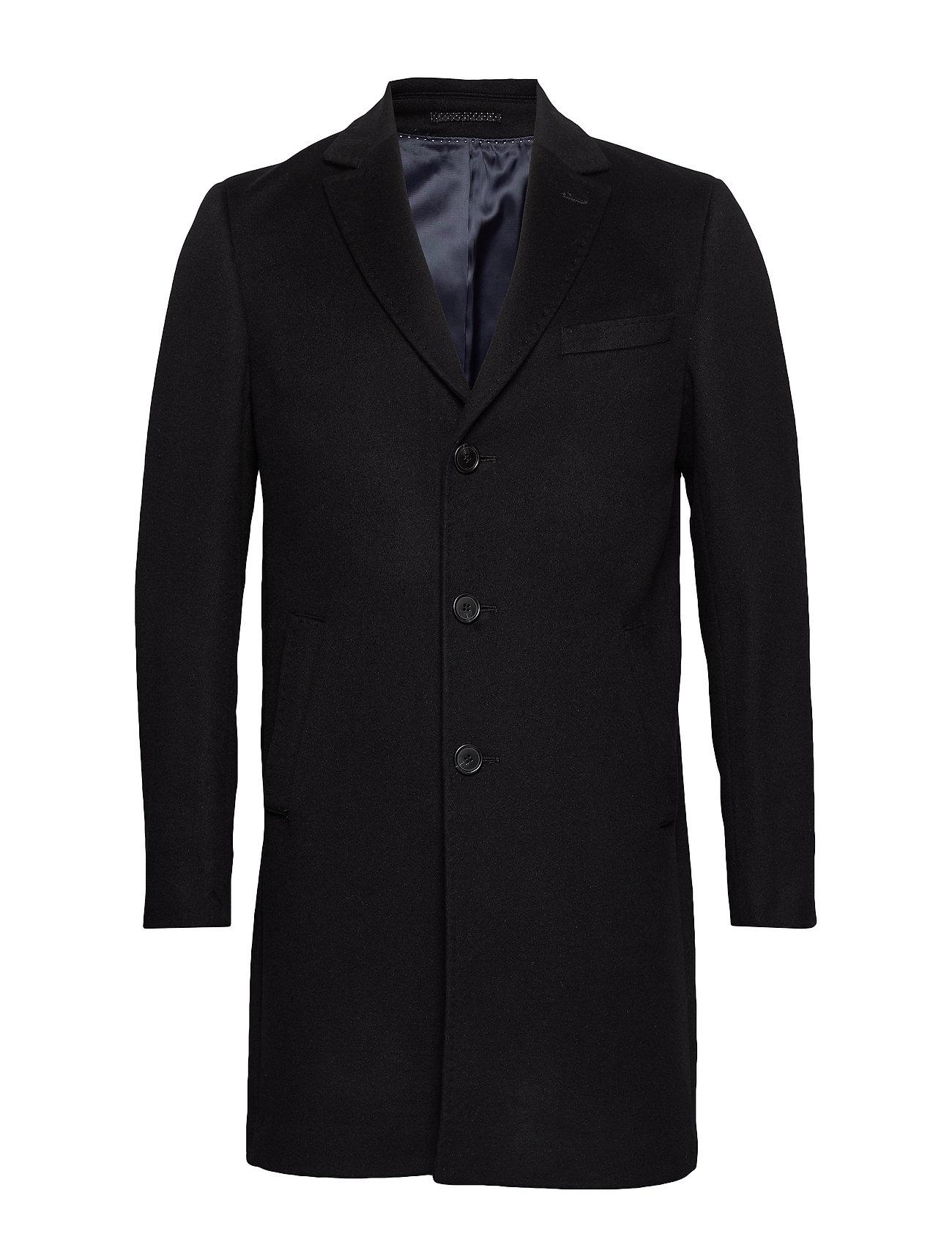 SAND Cashmere Coat - Sultan Relax - BLACK