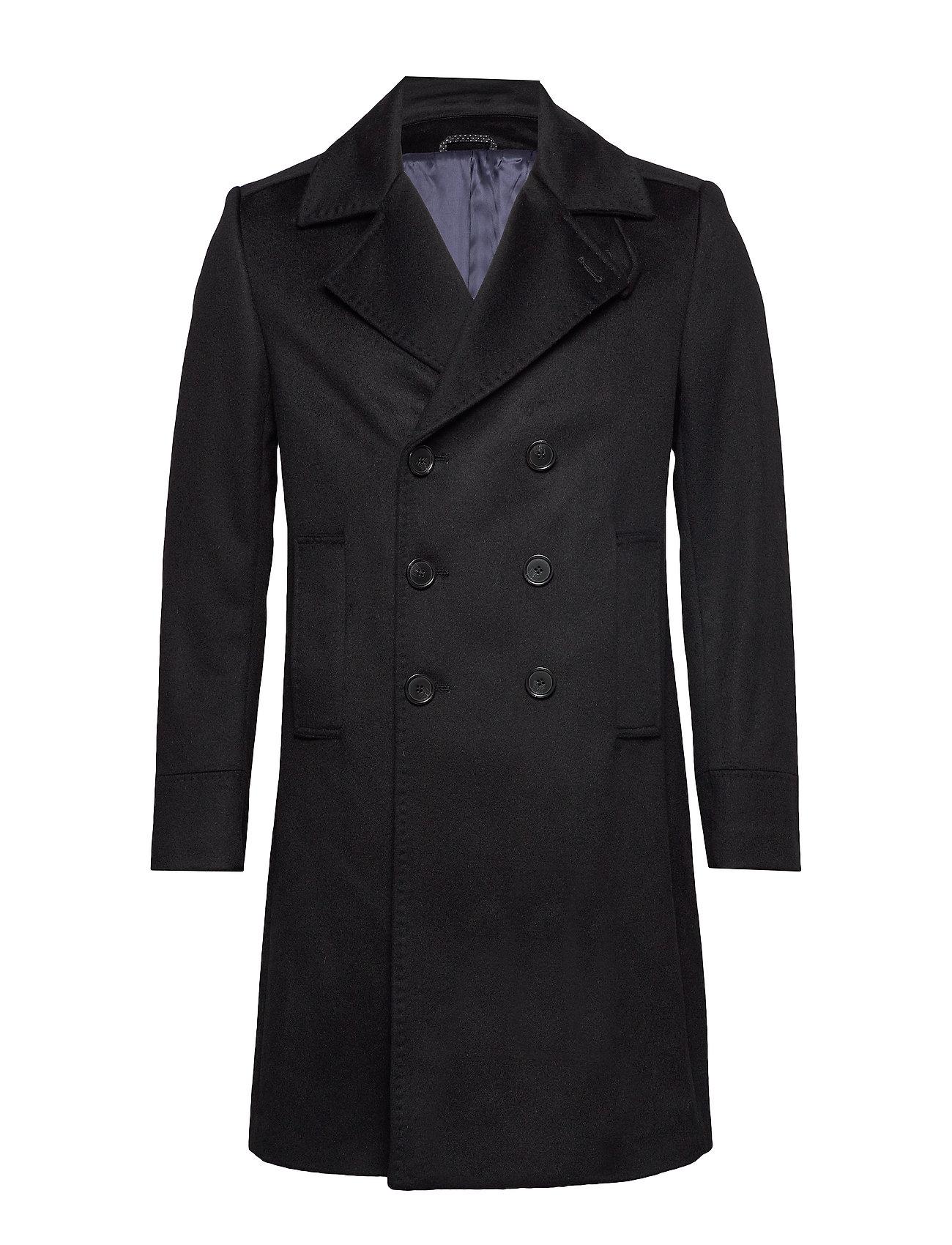 SAND Cashmere Coat - Hardy - BLACK