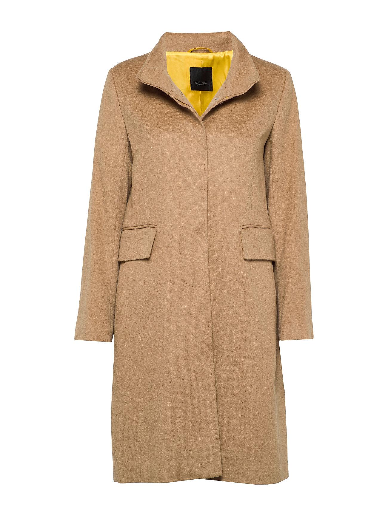 SAND Cashmere Coat WW - Parker 3 - LIGHT CAMEL