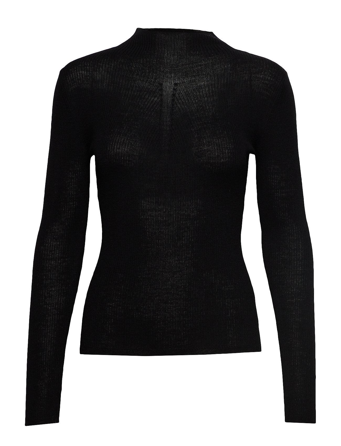 SAND Fellini Rib - Eleri Top - BLACK