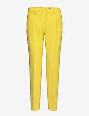 SAND - 3596 - Dori A - slim fit broeken - pale yellow - 0