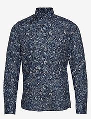 SAND - 8664 - Iver 2 - business shirts - medium blue - 0