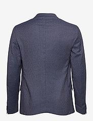 SAND - 6263 - Star Easy Normal - single breasted blazers - medium blue - 1