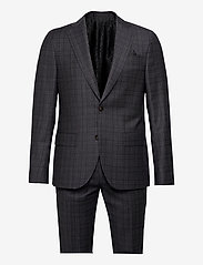 SAND - 1683 - Star Napoli-Craig Normal - enkelknäppta kostymer - grey - 0