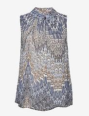 SAND - 3392 - Prosi Top - blouses sans manches - blue - 0