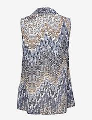 SAND - 3392 - Prosi Top - blouses sans manches - blue - 1