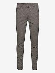 SAND - 2557 - Dolan Slim - formele broeken - pattern - 0