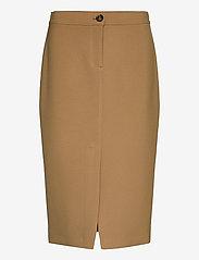 SAND - 3596 - Aidith - midi kjolar - light camel - 0