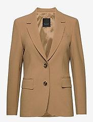 SAND - 3596 - Ginette - vestes habillées - light camel - 0