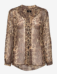SAND - 3400 - Cecil - long sleeved blouses - pattern - 0