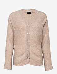 SAND - 5194 - Silje Cardigan - koftor - light beige - 0