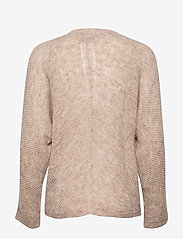 SAND - 5194 - Silje Cardigan - koftor - light beige - 1