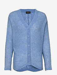 SAND - 5194 - Silje Cardigan - cardigans - light blue - 0